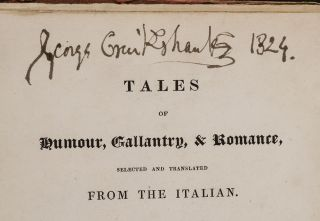 Tales of Humour, Gallantry, & Romance, George CRUIKSHANK, illustrator, Thomas ROSCOE.