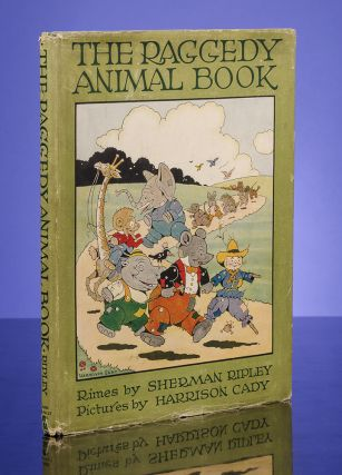 Raggedy Animal Book, The. Harrison CADY, illustrator, Sherman Ripley.