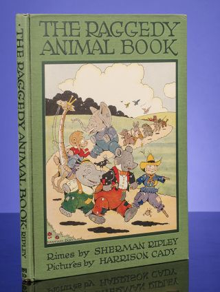 Raggedy Animal Book, The
