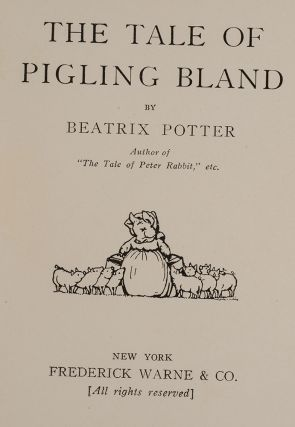 Tale of Pigling Bland, The