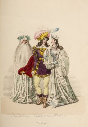 Characters in the Grand Fancy Ball Given by the British Ambassador Sir Henry Wellesley, at Vienna, at the Conclusion of the Carnival 1826;