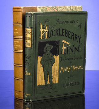 Adventures of Huckleberry Finn (Tom Sawyer's Comrade). Mark TWAIN, Samuel L. CLEMENS.