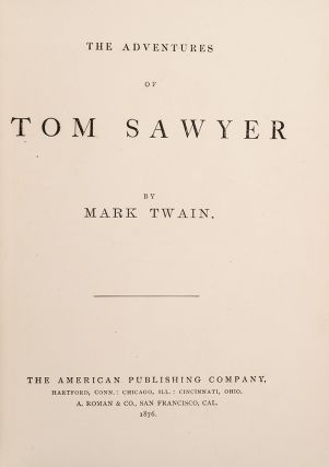 Adventures of Tom Sawyer, The