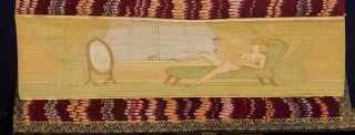 Idylls of the King. FORE-EDGE PAINTING, Thomas KERSLAKE, binder, Alfred TENNYSON, Lord.