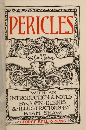 Pericles [and] Poems