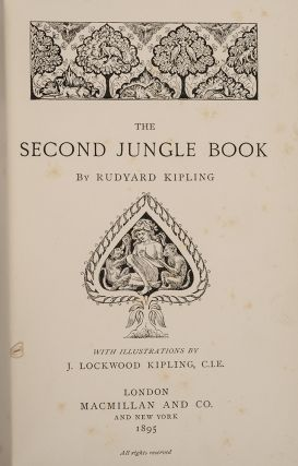 Jungle Book, The [Together with:] The Second Jungle Book