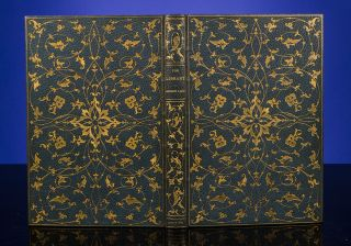 Library, The. binder ZAEHNSDORF, Andrew LANG, Austin DOBSON.