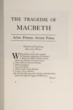 Shakespeare's The Tragedie of Macbeth
