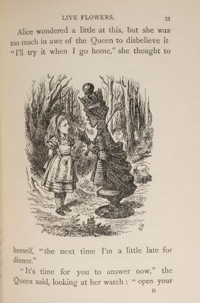 Alice's Adventures in Wonderland [bound together with] Through the Looking-Glass And What Alice Found There