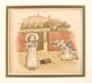 Come and Play in the Garden. Kate GREENAWAY, artist