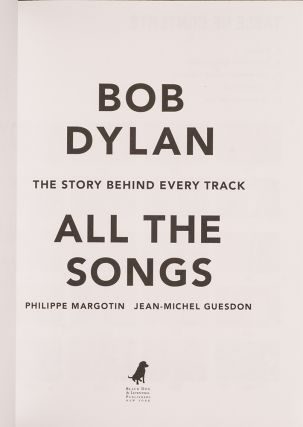 Bob Dylan: All The Songs