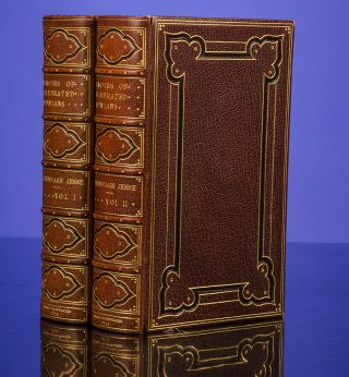 Memoirs of Celebrated Etonians:. John Heneage JESSE, binder BAYNTUN.