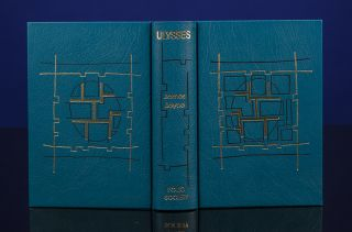 Ulysses. James JOYCE, THE FOLIO SOCIETY, Jeff CLEMENTS, binder