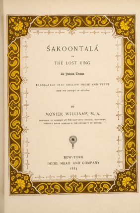´Sakoontalá or The Lost Ring