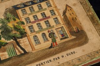 Le Jeu Du Portier, [The Doorman's Game]