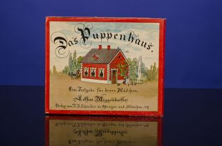 Das Puppenhaus. POP-UP BOOK, Lothar MEGGENDORFER.