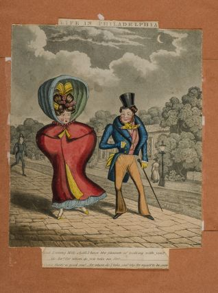 Historical and Political Illustrations. [Album of hand colored caricature prints by James Gillray...