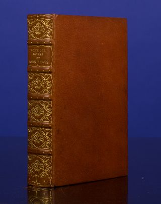 Poetical Works, The. John KEATS, RIVIÈRE, binder SON.
