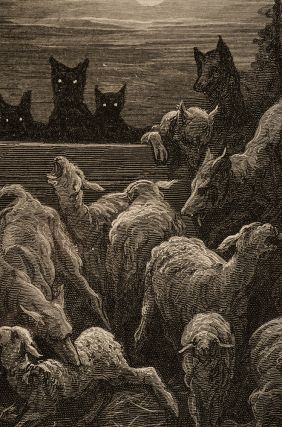 Fables, The. Gustave DORÉ, Jean de LA FONTAINE, Walter THORNBURY
