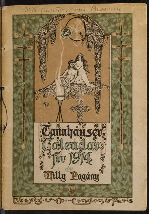 Tannhäuser Calendar for 1914. Willy POGANY, illustrator, Richard WAGNER.