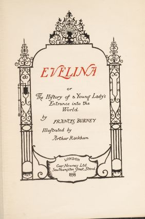 Evelina or The History of a Young Lady's Entrance into the World