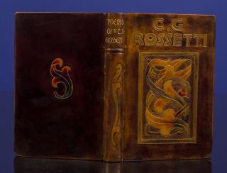 Poems of Christina Rossetti. RIVIÈRE, binder SON, Christina ROSSETTI