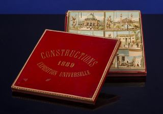 Constructions Exposition Universelle 1889. PARIS EXPOSITION UNIVERSELLE, WOODEN GAME