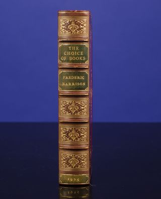 Choice of Books and other Literary Pieces, The