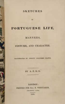 Sketches of Portuguese Life, Manners, Costume, and Character