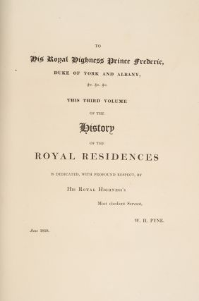 History of the Royal Residences, The
