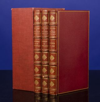 Three Tours of Doctor Syntax, The]. Thomas ROWLANDSON, William Combe, Rivière, binders Son