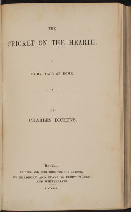 A Christmas Carol. The Chimes. The Cricket on the Hearth. The Battle of Life. The Haunted Man.