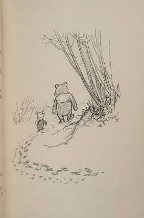 [Complete Set of the Pooh Books, A]. When We Were Very Young.. Winnie the Pooh. Now We Are Six. The House at Pooh Corner