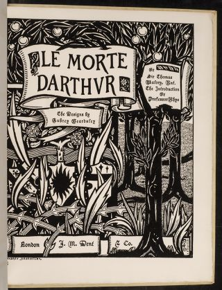 Reproductions of Eleven Designs Omitted from the First Edition of Le Morte Darthur. Aubrey...