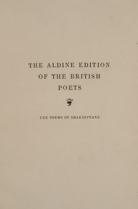 Poems of Shakespeare, The