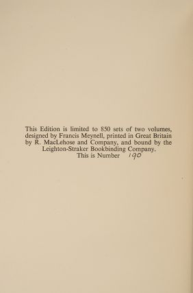 Writings of Gilbert White of Selborne, The