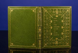 King of the Golden River, The. ROYCROFT BINDERY, Louis KINDER, binder?, John RUSKIN