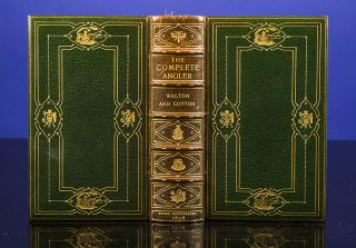 Complete Angler; or, Contemplative Man's Recreation, The. COSWAY-STYLE BINDING, binder BAYNTUN,...