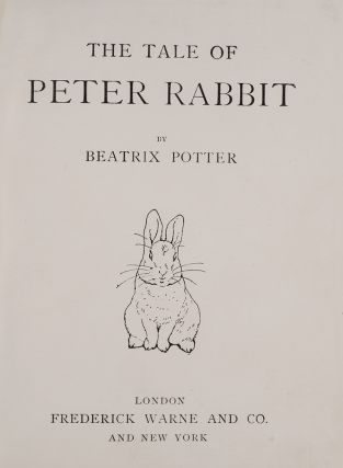 Tale of Peter Rabbit, The