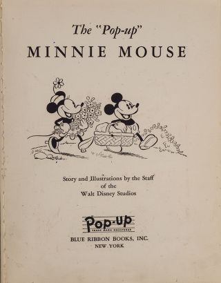 """Pop-up"" Minnie Mouse, The"
