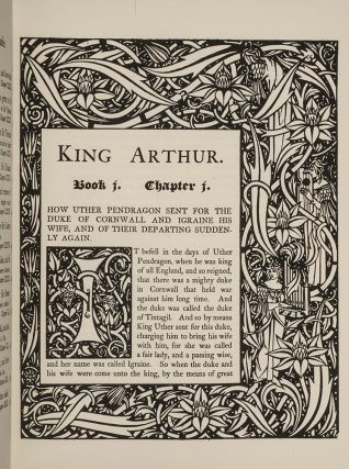 The Birth, Life, and Acts of King Arthur, of His Noble Knights of the Round Table,