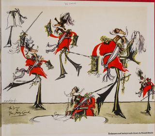 Dick Deadeye. Ronald SEARLE, GILBERT, SULLIVAN