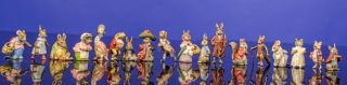 Eighteen 'Cold-painted' Bronze Figures of Beatrix Potter Characters. Beatrix POTTER