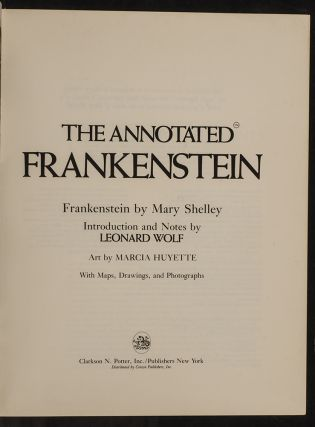 Annotated Frankenstein, The