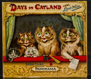 Days in Catland with Louis Wain