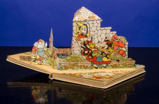 Mickey Mouse in King Arthur's Court. Walt DISNEY, Studios, Pop-Up book