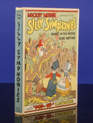 "The ""Pop-up"" Silly Symphonies. Walt DISNEY, Studios, POP-UP BOOK"