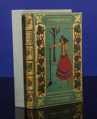 Rubáiyát of Omar Khayyám, The. binder BAYNTUN, Gilbert JAMES