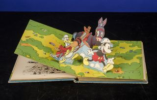 Mickey Hop-La! Une Partie De Polo. Walt DISNEY, POP-UP BOOK