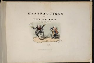 Distractions. Henry MONNIER, George CRUIKSHANK